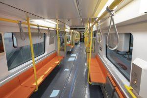 Orange Line car