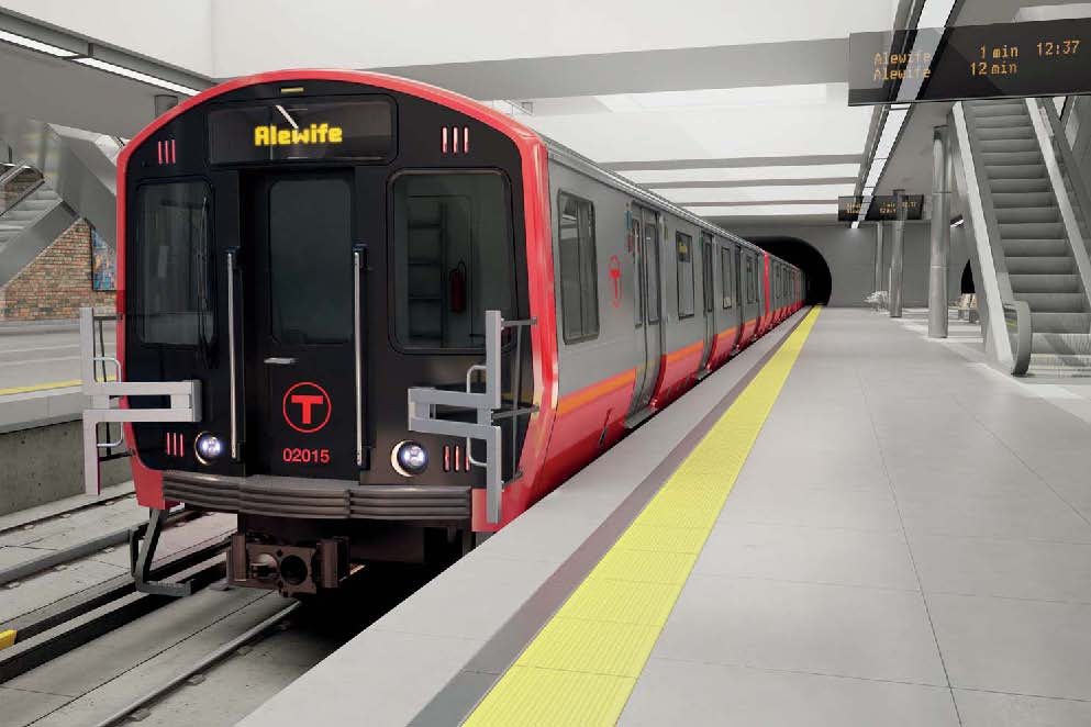 MBTA Red Line car